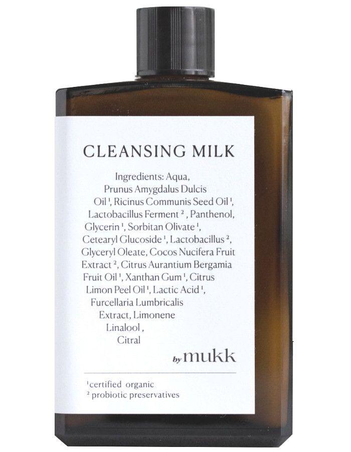 By Mukk Cleansing Milk 100ml 4742022450031 snel, veilig en gemakkelijk online kopen bij Beauty4skin.nl