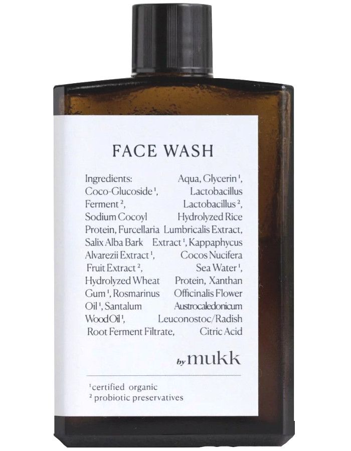 By Mukk Face Wash 100ml 4742022450093 snel, veilig en gemakkelijk online kopen bij Beauty4skin.nl