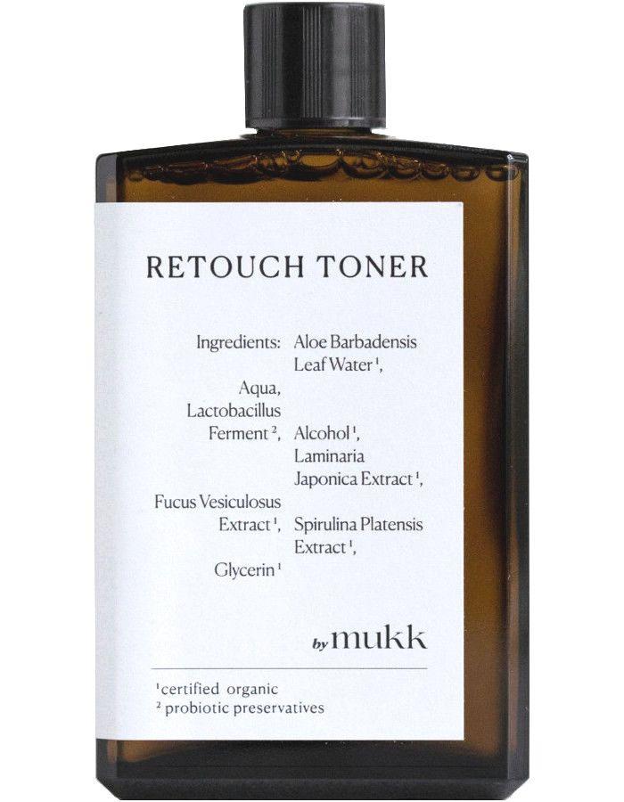 By Mukk Retouch Toner 100ml 4742022450048 snel, veilig en gemakkelijk online kopen bij Beauty4skin.nl