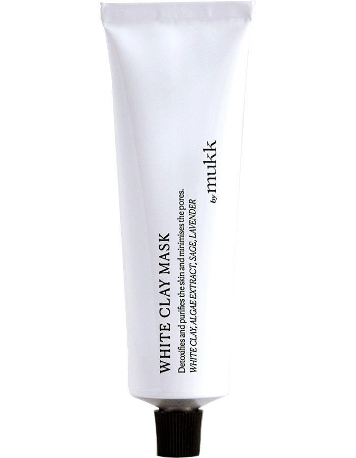 By Mukk White Clay Mask 60ml 4742022450086 snel, veilig en gemakkelijk online kopen bij Beauty4skin.nl