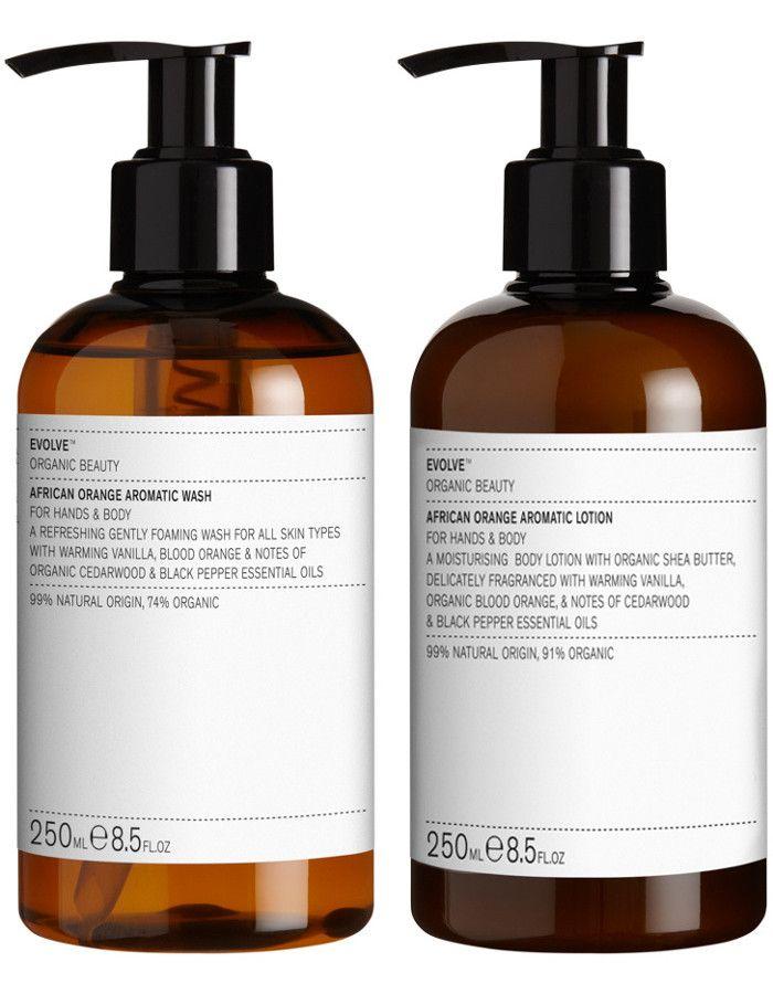 Evolve Organic Beauty African Orange Action Bundle 2-Delig 5060200045459 snel, veilig en gemakkelijk online kopen bij Beauty4skin.nl