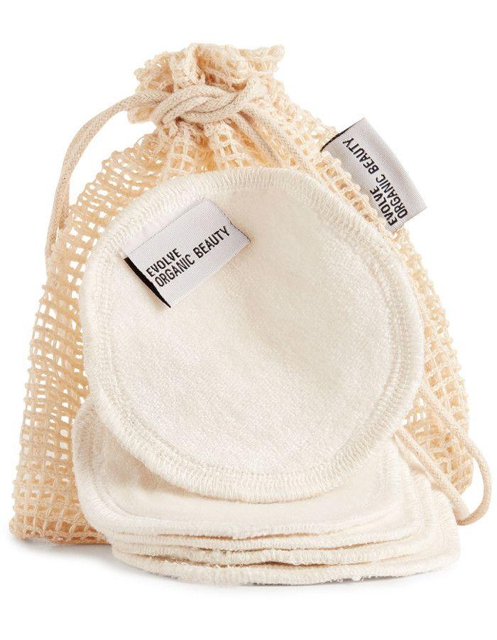 Evolve Organic Beauty Bamboo Reusable Makeup Remover Pads 5st 5060200040829 snel, veilig en gemakkelijk online kopen bij Beauty4skin.nl