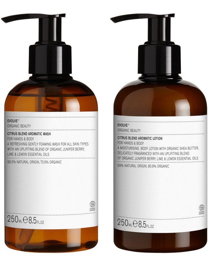 Evolve Organic Beauty Citrus Blend Aromatic Action Bundle 2-Delig 5060200045442 snel, veilig en gemakkelijk online kopen bij Beauty4skin.nl