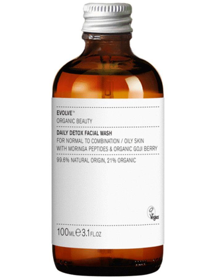 Evolve Organic Beauty Daily Detox Facial Wash 100ml Refill 5060200048016r snel, veilig en gemakkelijk online kopen bij Beauty4skin.nl