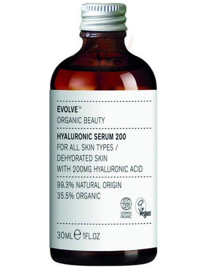 Evolve Organic Beauty Hyaluronic Serum 200 30ml Refill 5060200048054r snel, veilig en gemakkelijk online kopen bij Beauty4skin.nl