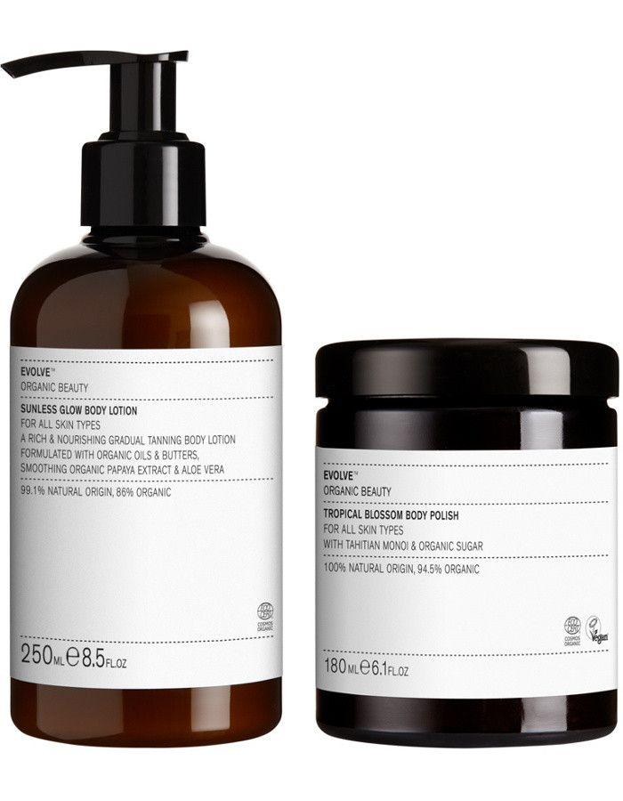 Evolve Organic Beauty Summer Action Bundle 2-Delig 5060200045497 snel, veilig en gemakkelijk online kopen bij Beauty4skin.nl