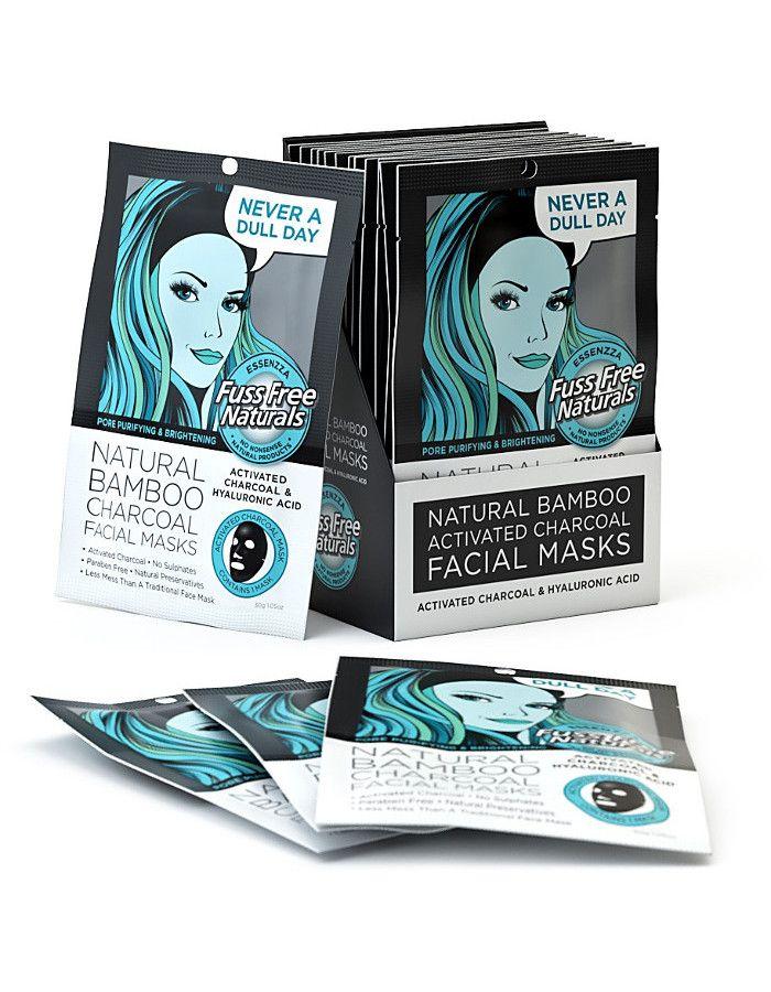 Fuss Free Natural Silk Facial Sheet Mask Never A Dull Day 1st 9335419701844 snel, veilig en gemakkelijk online kopen bij Beauty4skin.nl