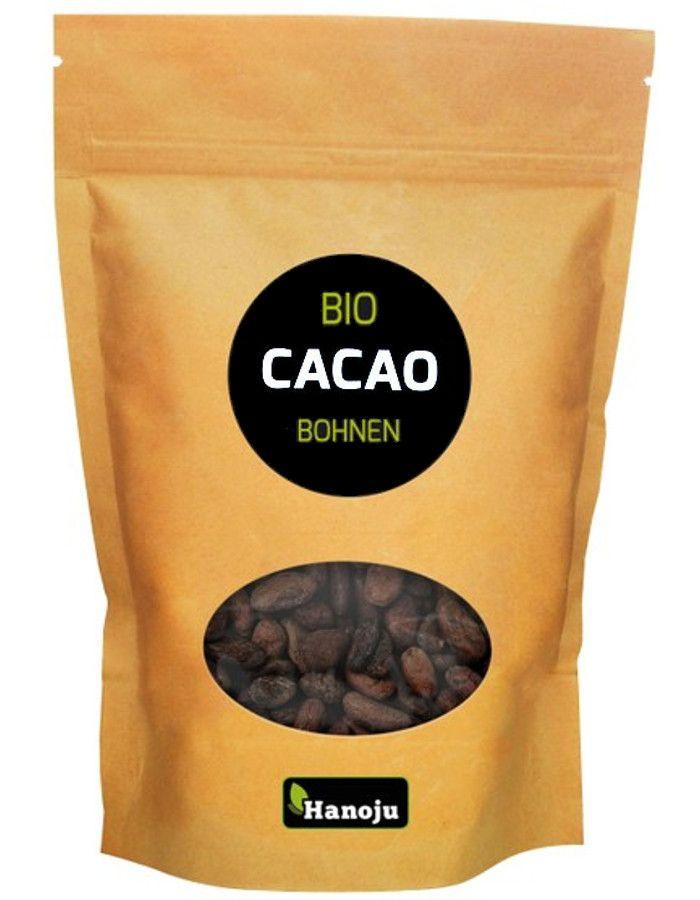 Hanoju Raw Cacao Beans Bio 250gr