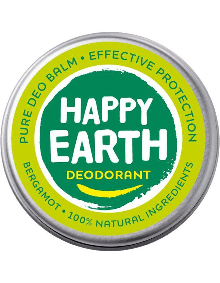 Happy Earth Pure deodorant balm bergamot 8719324667234  snel, veilig en gemakkelijk online kopen bij Beauty4skin.nl