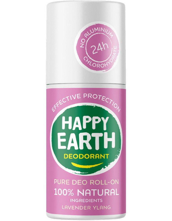 Happy Earth Pure Deo Roll-On Lavender Ylang 75ml 8719324667142