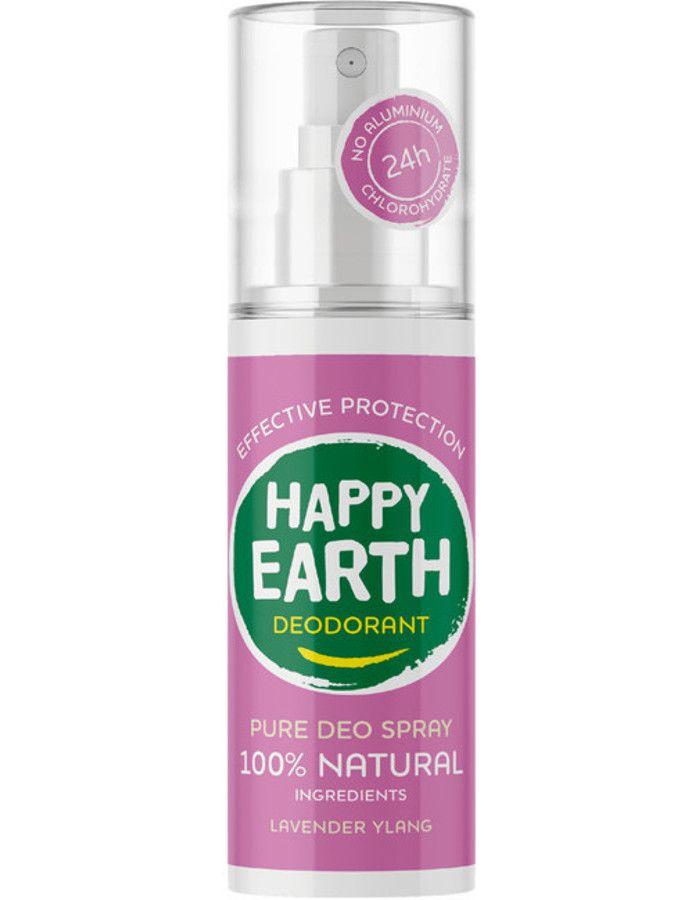 Happy Earth Pure Deo Spray Lavender Ylang 100ml 8719324667159