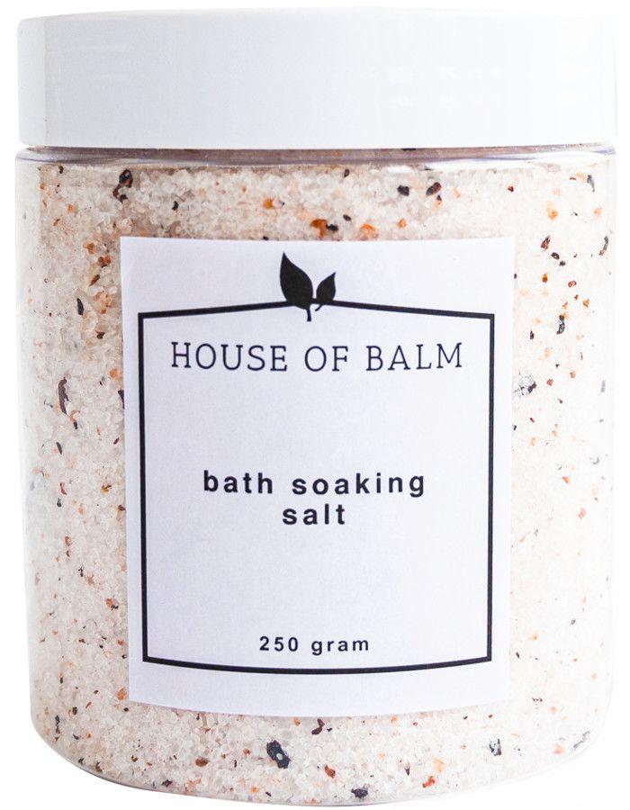 House Of Balm Bath Soaking Salt 250gr 7104389505989 snel, veilig en gemakkelijk online kopen bij Beauty4skin.nl