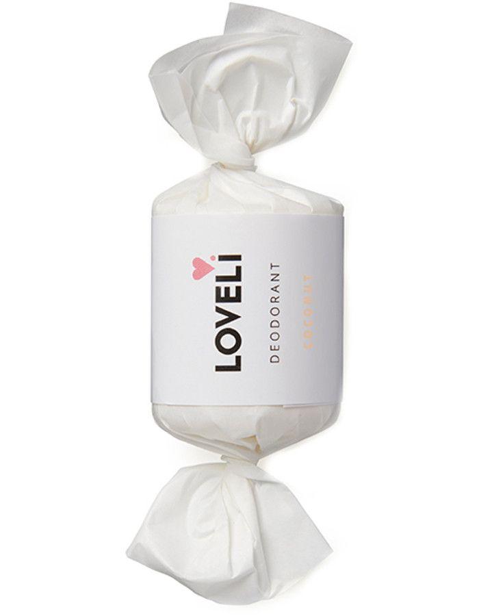 Loveli Aluminiumvrije Deodorant Stick Refill Coconut 30ml 9501119494748 snel, veilig en gemakkelijk online kopen bij Beauty4skin.nl