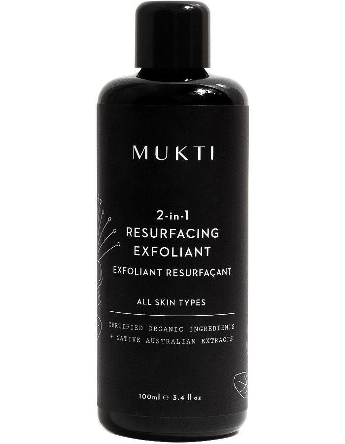 Mukti Organics 2 in 1 Resurfacing Exfoliant 100ml 9328424002730 snel, veilig en gemakkelijk online kopen bij Beauty4skin.nl