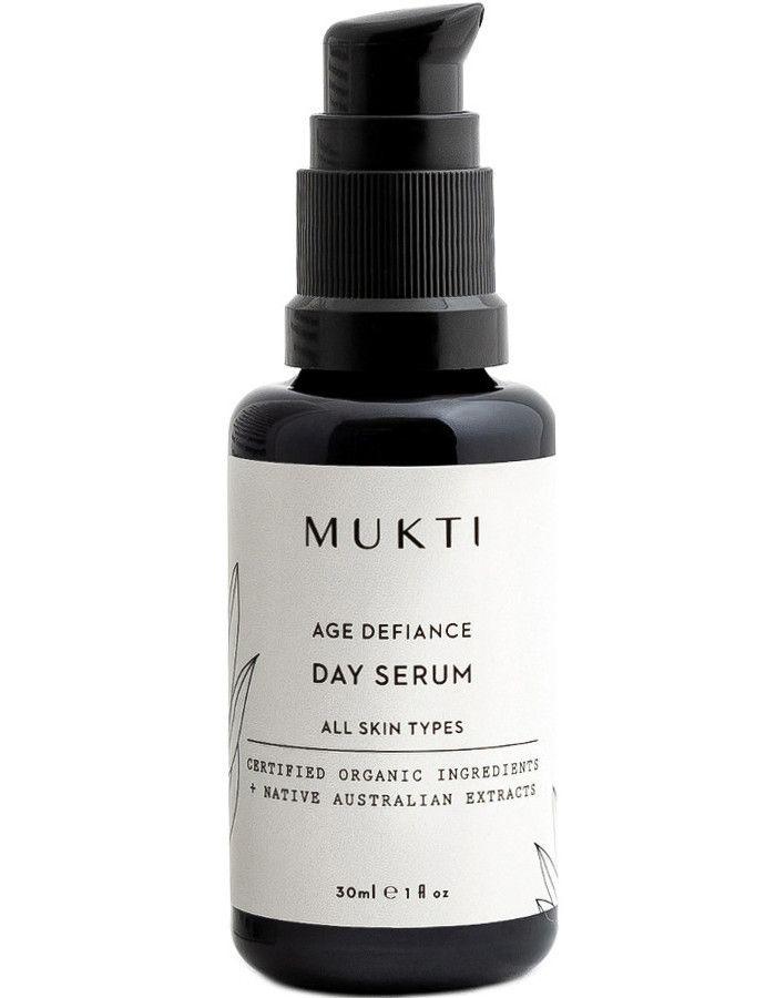 Mukti Organics Age Defiance Day Serum 30ml 9328424001085 snel, veilig en gemakkelijk online kopen bij Beauty4skin.nl