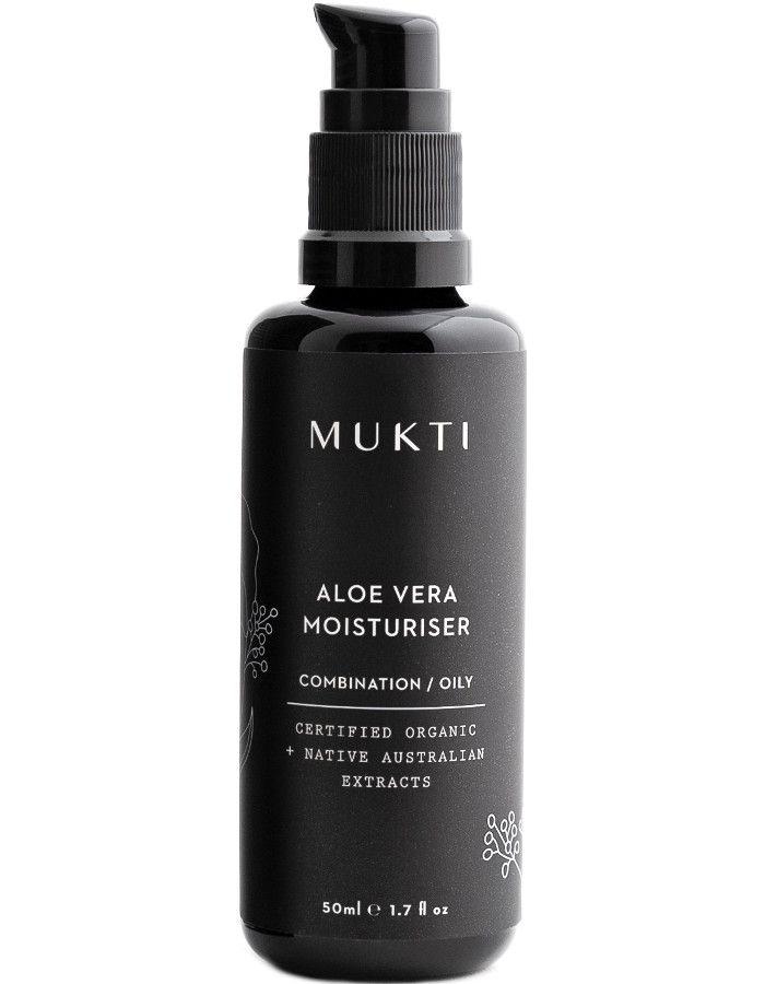 Mukti Organics Aloe Vera Moisturiser 50ml 9328424000965 snel, veilig en gemakkelijk online kopen bij Beauty4skin.nl