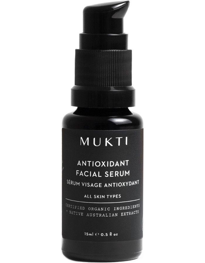 Mukti Organics Antioxidant Facial Serum 30ml 9328424000989 snel, veilig en gemakkelijk online kopen bij Beauty4skin.nl