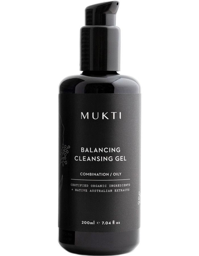 Mukti Organics Balancing Cleansing Gel 200ml 9328424001122 snel, veilig en gemakkelijk online kopen bij Beauty4skin.nl