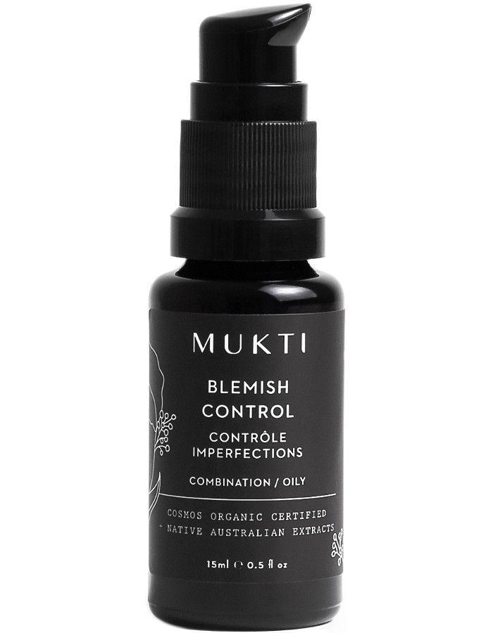 Mukti Organics Blemish Control 15ml 9328424002716 snel, veilig en gemakkelijk online kopen bij Beauty4skin.nl