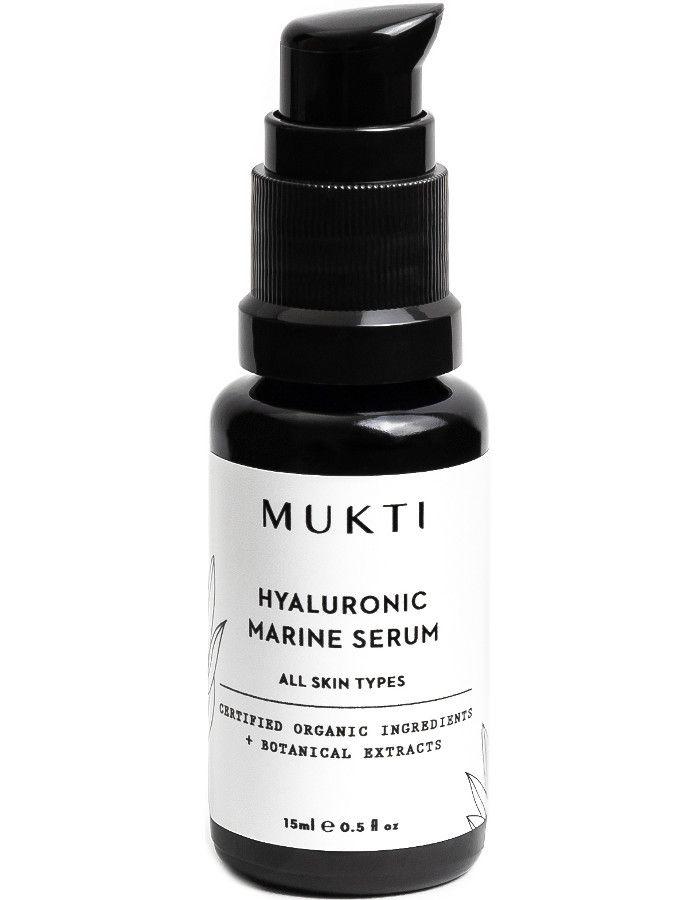 Mukti Organics Hyaluronic Marine Serum 30ml 9328424001603 snel, veilig en gemakkelijk online kopen bij Beauty4skin.nl