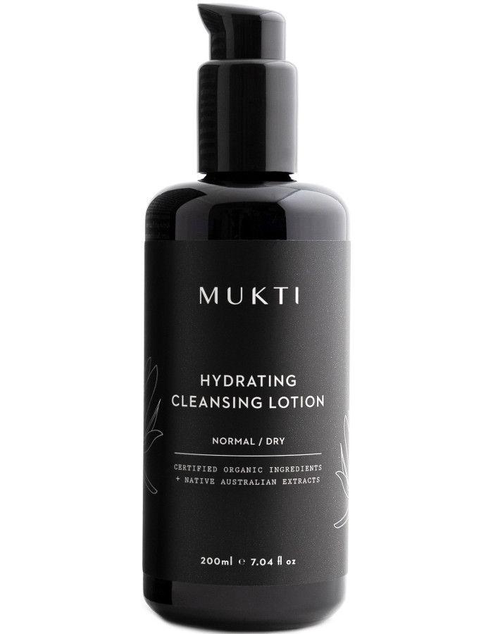 Mukti Organics Hydrating Cleansing Lotion 200ml 9328424001115 snel, veilig en gemakkelijk online kopen bij Beauty4skin.nl