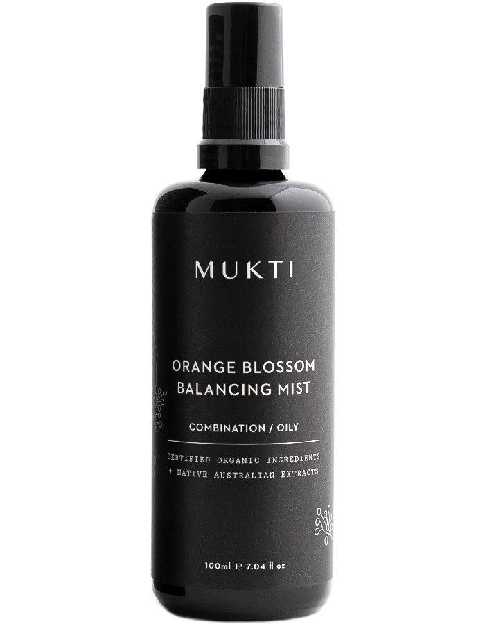 Mukti Organics Orange Blossom Balancing Mist 100ml 9328424001047 snel, veilig en gemakkelijk online kopen bij Beauty4skin.nl