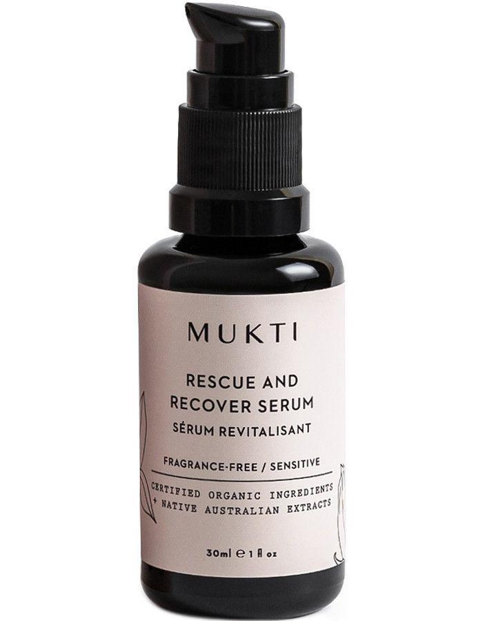 Mukti Organics Rescue & Recover Serum 30ml 9328424002761 snel, veilig en gemakkelijk online kopen bij Beauty4skin.nl