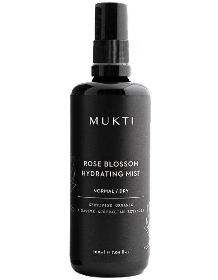 Mukti Organics Rose Blossom Hydrating Mist 100ml 9328424001030 snel, veilig en gemakkelijk online kopen bij Beauty4skin.nl