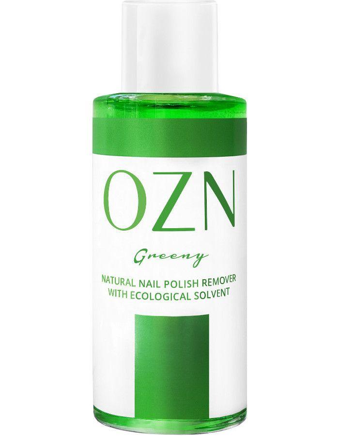 OZN Plant Based Nail Polish Remover Greeny 100ml 4250897829161 snel, veilig en gemakkelijk online kopen bij Beauty4skin.nl